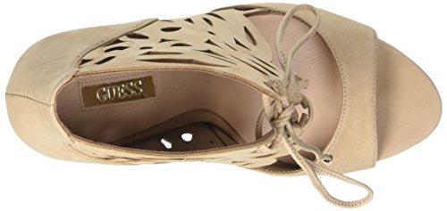 GUESS Lea03 - sandalias con correa Mujer Beige