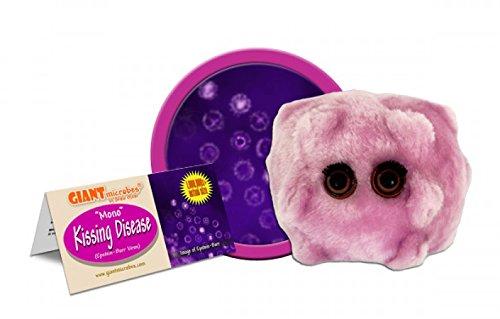 Giant Microbes Kissing Disease  Plush Toy