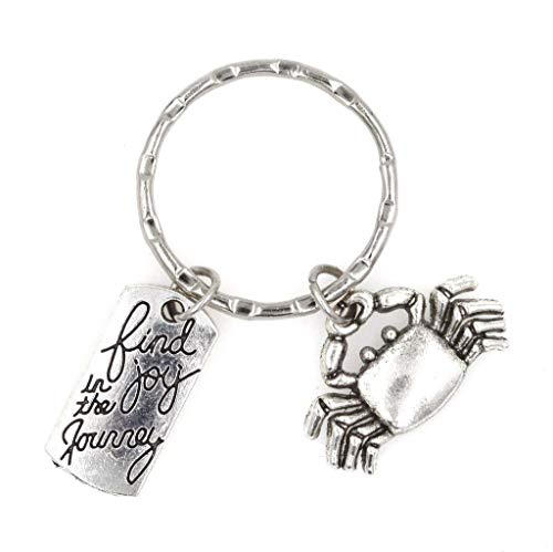 (Find Joy in The Journey Crab Keychain 105T)