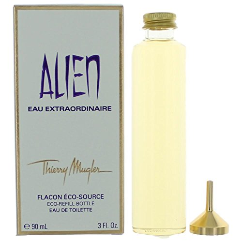 Thierry Mugler Alien Eau Extraordinaire Eau De Toilette 3 Oz/ 90 Ml - Splash - Eco-refill Bottle for Women By 3 Fl Oz