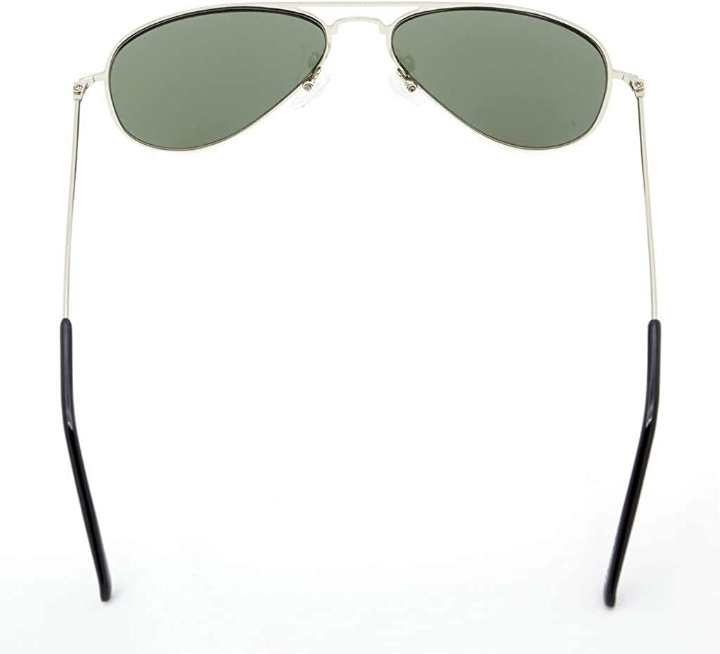 Eyekepper Stainless Steel Frame Pilot Kids Children Sunglasses