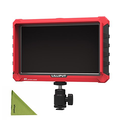 LILLIPUT A7S 7'' 4K HDMI Input/Output Field Monitor with 1920 x 1200 Native Resolution by Vitopal