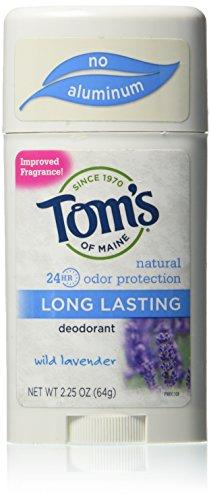 TOM'S OF MAINE, Deodorant Stick Long Lasting Lavender - 2.25 oz