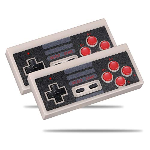 Cooldiy 2 Packs NES Classic Controller Wireless