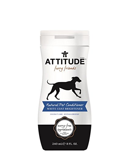 Attitude Pet Conditioner White Coat Brightener 8 fl oz by Attitude