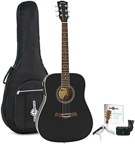 Pack de Guitarra Electroacustica Dreadnought Thinline de ...
