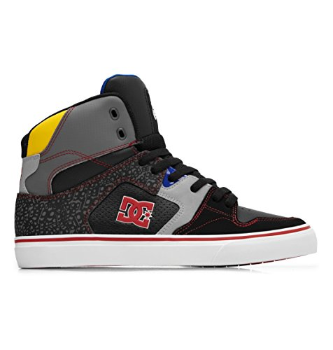 DC Men's Pro VLC 3.0 TP Sneaker,Black/Battleship/Royal,9 M US