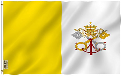 fly breeze vatican flag
