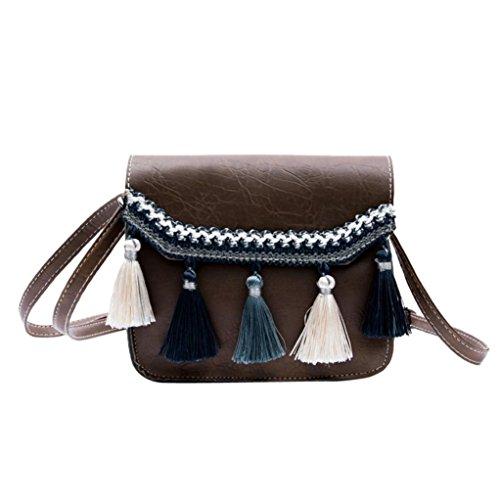 Donna Crossbody Vintage Donna Beauty Tracolla Borse Fiocco Messenger Borsa Bag B Spalla Bag Borse a con Luo a Borse XfwCE