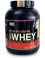 Optimum Nutrition Gold Standard 100% Whey Protein Powder, Vanilla Ice Cream - 2.27 Kilograms