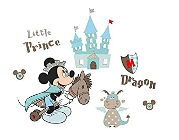 Kibi Wandtattoo Mickey Mouse Wandtattoo Mickey und Minnie Wandaufkleber  Mickey Mouse wandsticker Mickey Maus Wandsticker Kinderzimmer Micky Mouse  ...