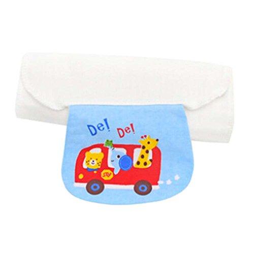 Set of 2 Medium Size Babies Sweat Absorbent Towels, 32x 24 cm