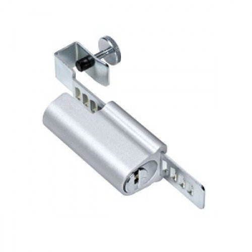 Mul-t-lock Sliding door showcase lock by Mul-T-Lock