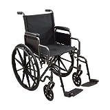 "Roscoe Medical Kona Dual Axle K1/K2 Wheelchair 20"" SAFR"
