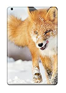 Ipad Mini Cases Slim [ultra Fit] Fox Winter Protective Cases Covers