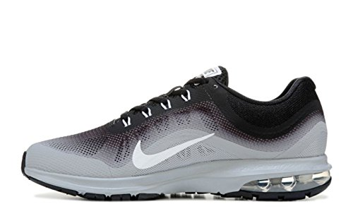 Nike Hombres Air Max Dynasty Correr, Correr, Negro / Blanco / Gris, Us M