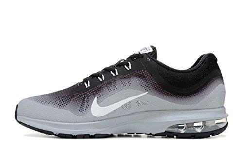 Nike Mens Air Max Dynasti Löpning, Löpning, Svart / Vit / Grå, Oss M