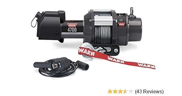 warn 3700 winch wiring diagram amazon com warn 94700 4700 dc winch automotive  amazon com warn 94700 4700 dc winch