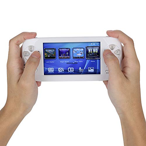 Matoen Handheld Game Console 4.3 16GB 3000 Classic Portable Game Console Pap-KIII (White) by Matoen (Image #4)