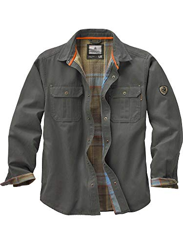 Legendary Whitetails Mens Journeyman Shirt Jacket Army Small (Wool Military Field Shirt)
