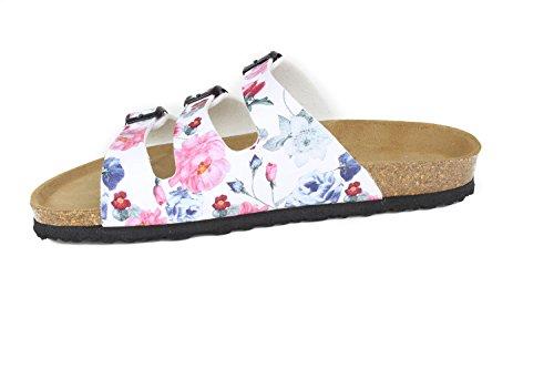 JOE N JOYCE Paris Synsoft Soft-Fußbett Rose White Größe 36 Schmal