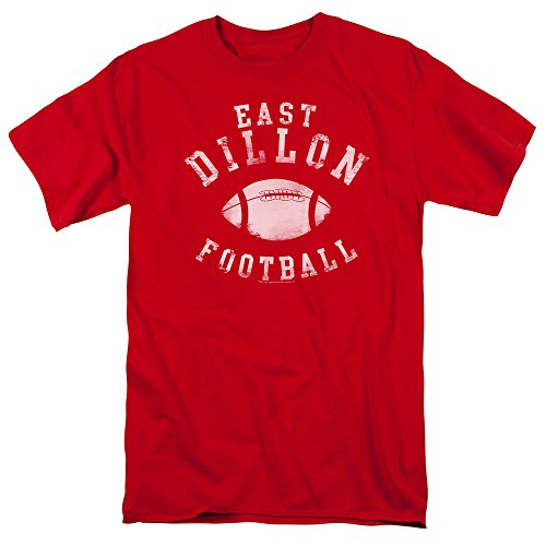 East Tv (Friday Night Lights East Dillon Football Vintage Style NBC TV Show T-Shirt Tee Select Shirt Size: Large)