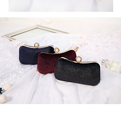 Wardrobe nbsp;cm Mariage Bronzage 11cm Main Embrayage Daorier Bordeaux Bleu Flanelle Sac En À 20 Petite 5 11 5 Flirty Soirée Mariée 20 5qxw4Ea