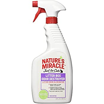 Amazon Com Nature S Miracle Just For Cats Litter Box Odor