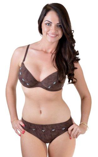 Change LingerieDamen Bikinihose Braun Braun