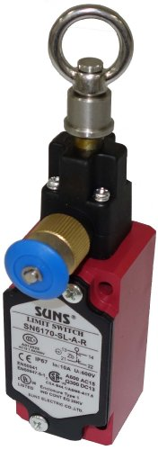 Suns International SN6170-SL-A-R SN6170 Series 1/2 NPT with Reset IP65/IP67 2 Way Cable Pull Safety Switch - 1 Item(s)