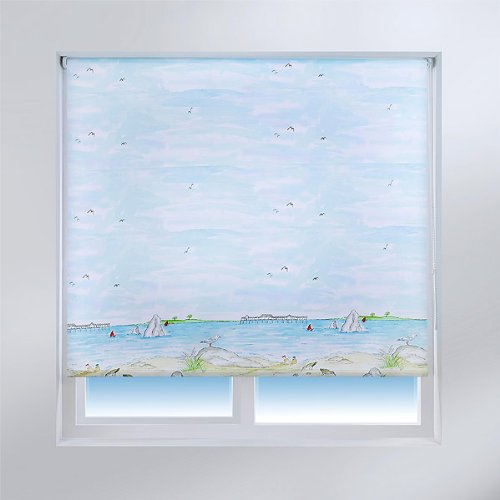 Best Nautical & Sea Themed Window Roller Blinds Reviews in 2019 1