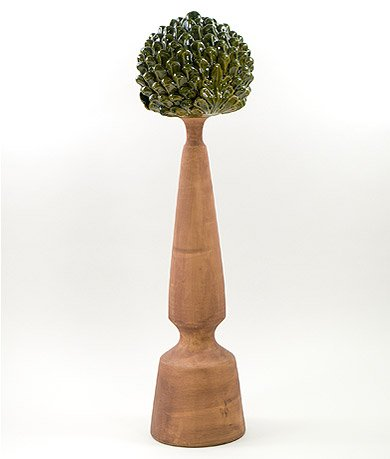 Pinecone Finial Evergreen - ()