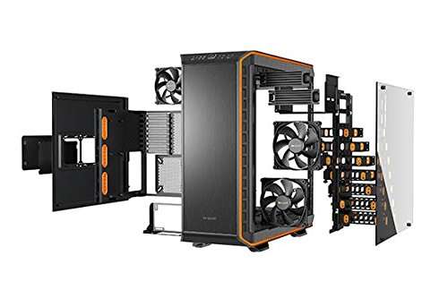 be quiet! BGW10 DARK BASE PRO 900 ATX Full Tower Computer Chassis - Black/Orange by be quiet! (Image #3)