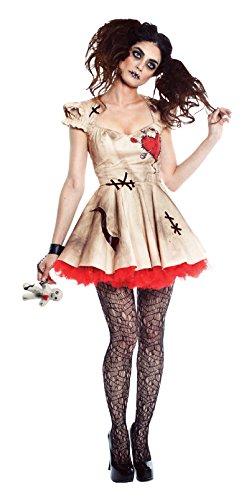Seeing Red SR90102 (Small) Ladies Voodoo Magic Dress