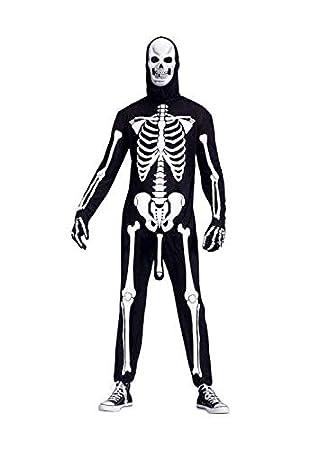 Horror-Shop Traje de Esqueleto córneo: Amazon.es: Juguetes y ...