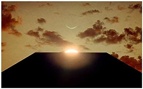 amazon com 2001 a space odyssey movie monolith poster print gift poster for fan poster home art wall posters no framed posters prints 2001 a space odyssey movie monolith