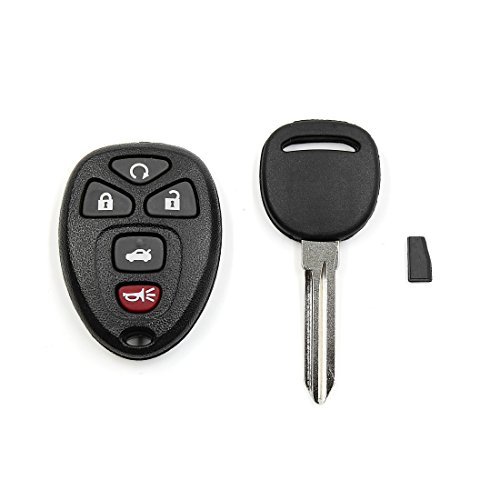 Remote Car Ignition (uxcell New Car Entry Remote Control Ignition Key Fob Clicker Set KOBGT04A Replacement for Chevrolet)