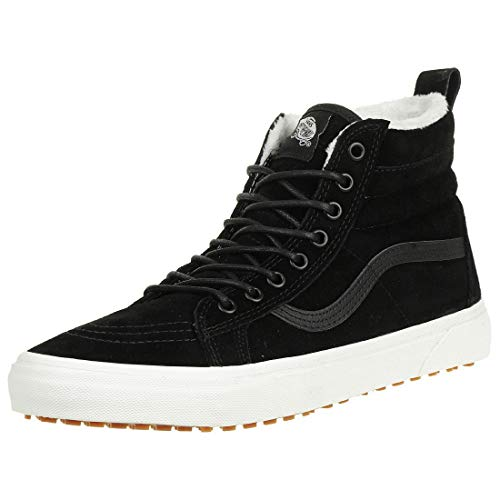 13a676c6fd9cb4 Galleon - Vans Classic SK8-HI MTE Sneaker Skate Leather Winterboots  VN0A33TXUC21 Black