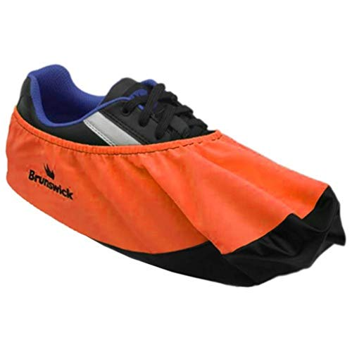 Brunswick Bowling Products Shoe Shield Shoe Covers- Neon L/XL, Orange, Large/X-Large (Covers For Bowling Shoes)