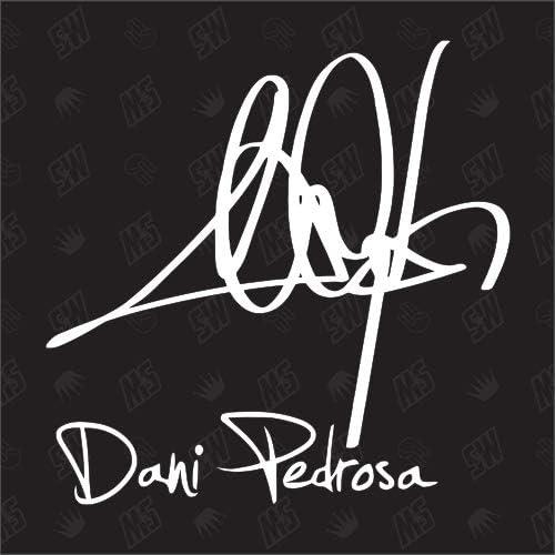 Speedwerk Motorwear Dani Pedrosa Autogramm Moto Gp Sticker Auto