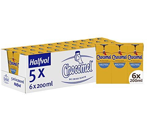 Chocomel Mini Halfvol, 5 x 6 x 200 ml