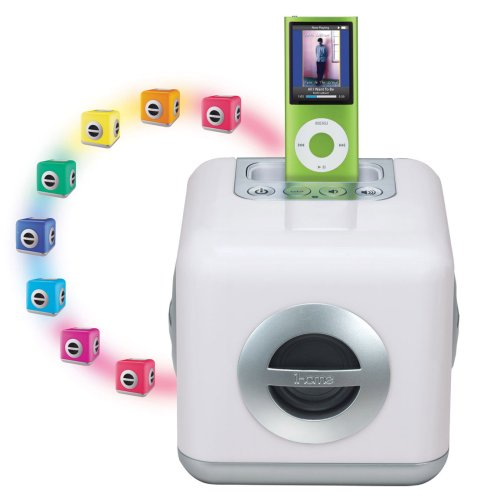 iHome iH15 Color Changing 30-Pin iPod Speaker (Ipod Touch Docking Station)