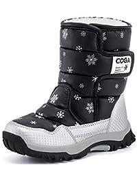 DADAWEN Kid's Boy's Girl's Frosty Winter Boot (Toddler/Little Kid/Big Kid)