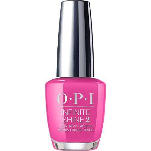 Long Wear Paint (OPI Infinite Shine Nail Polish, Bright Pink, No Turning Back From Pink Street, 0.5 fl. oz.)