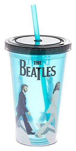 Vandor The Beatles Abbey Road 18 Ounce Acrylic Travel Cup (72014) (Beatles Mug)