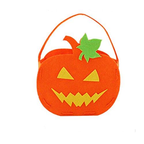 Diy Angel Halo Costume (Halloween Decoration,DIY Halloween Smile Pumpkin Bag Kids Candy Bag Children (D))