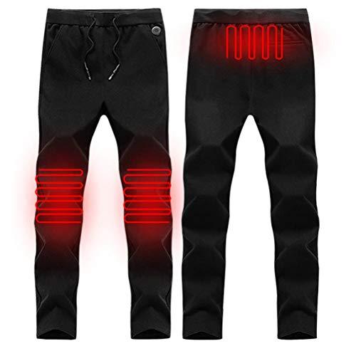 Peahop Pantalones calefactables Pantalones calefactados USB Pantalones calefactores Inteligentes Pantalones cálidos…