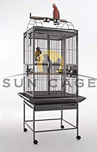 Sun Cages Jaula para Loros Finca Gym Top I: Amazon.es: Productos ...