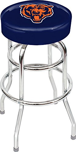 Imperial Officially Licensed NFL Furniture: Swivel Seat Bar Stool, Chicago Bears