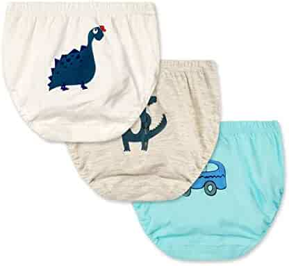 febbc005edfb Feidoog Unisex-Baby Toddler Boys and Girls Washable 3 Pack Toilet Training  Pants Cute Paints